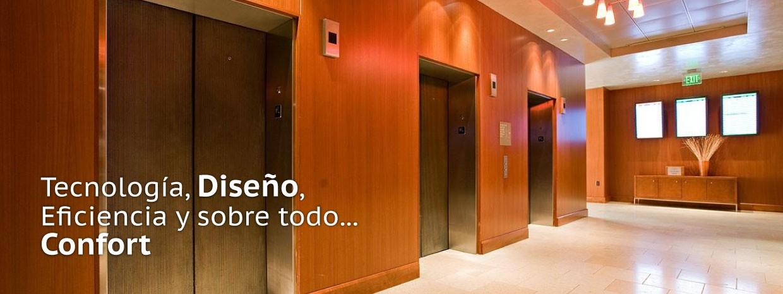 foto elevadores comerciales elegantes