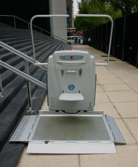 Elevador para silla de ruedas